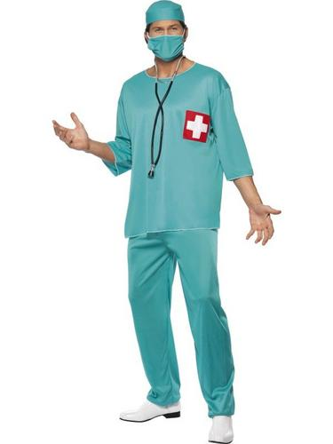 Surgeon Fancy Dress Costume Thumbnail 1
