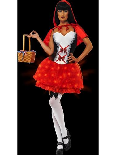 Light Up Red Riding Hood Costume Thumbnail 2