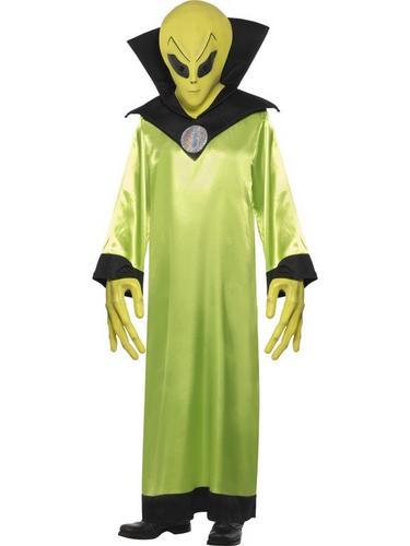 Alien Lord Fancy Dress Costume Thumbnail 1