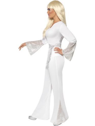 70s Disco Lady Fancy Dress Costume Thumbnail 3