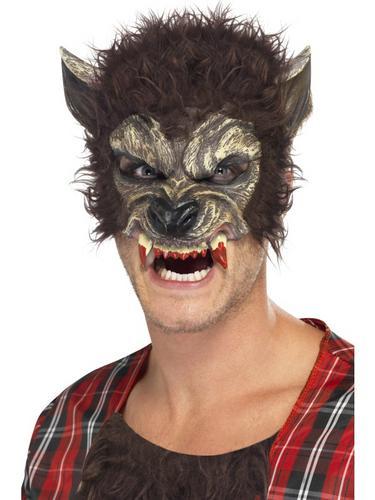 Werewolf Half Face Mask Thumbnail 1