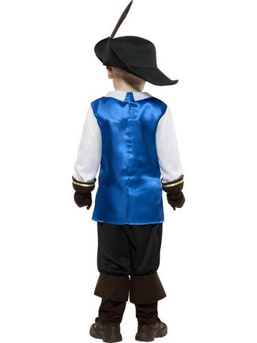 Musketeer Child Fancy Dress Costume Thumbnail 2