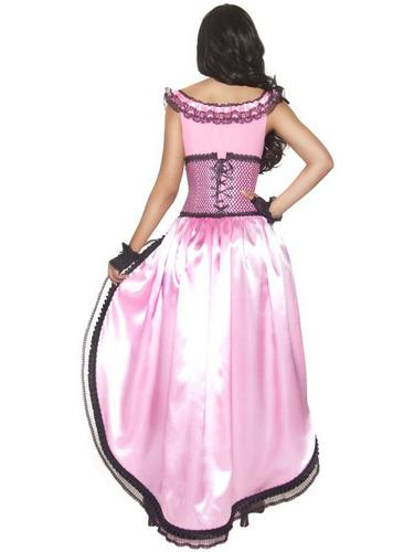 Western Authentic Brothel Babe Fancy Dress Costume Thumbnail 2