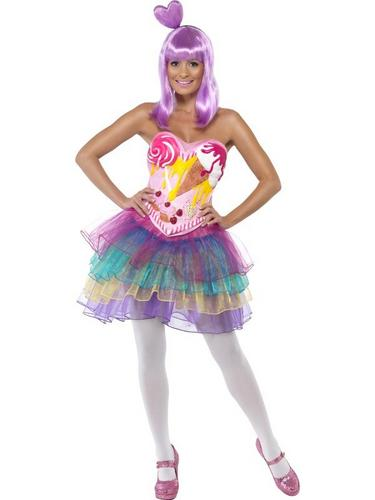Candy Queen Fancy Dress Costume Thumbnail 1
