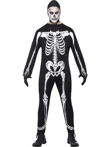 Skeleton Fancy Dress Costume Thumbnail 1