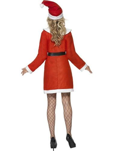 Bargain Miss Santa Fancy Dress Costume Thumbnail 2