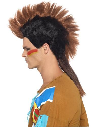Indian Male Mohican Wig Thumbnail 1