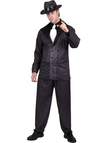Gangster Fancy Dress Costume Thumbnail 1
