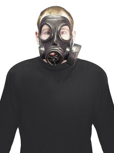 Gas Fancy Dress Mask Thumbnail 1