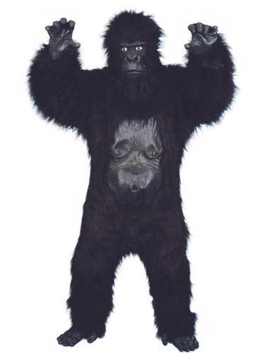 Deluxe Gorilla Fancy Dress Costume Thumbnail 1