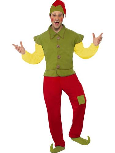 Elf Fancy Dress Costume Thumbnail 1