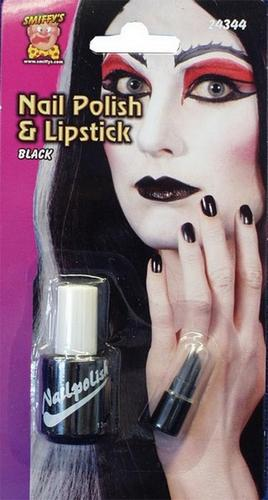 Nailpolish and Lipstick Set