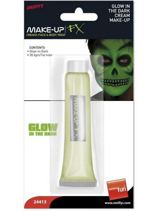 Glow in the Dark Cream Makeup Thumbnail 1