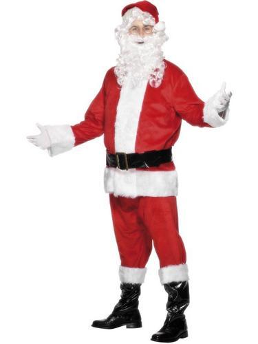 Santa Fancy Dress Costume Thumbnail 1