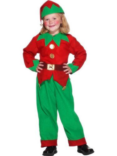 Childs Elf Fancy Dress Costume Thumbnail 2