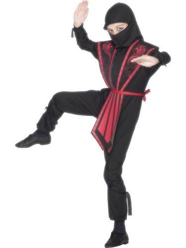 Boys Ninja Fancy Dress Costume Thumbnail 2