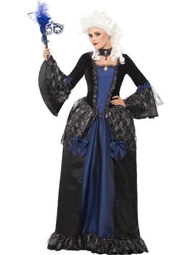 Baroque Beauty Masquerade Costume Thumbnail 1