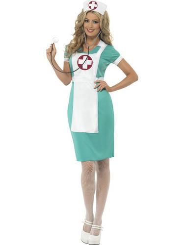 Scrub Nurse Costume Thumbnail 1