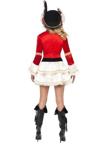 Boutique Plentiful Pirate Fancy Dress Costume Thumbnail 3