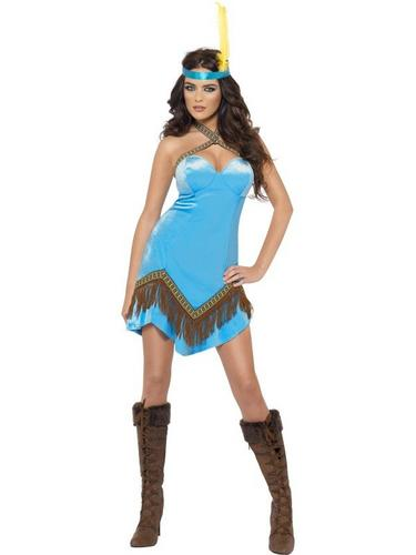 Fever Indian Fancy Dress Costume Thumbnail 1