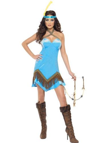 Fever Indian Fancy Dress Costume Thumbnail 2