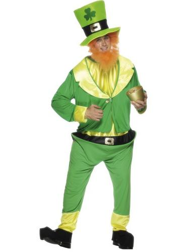 Leprechaun Fancy Dress Costume Thumbnail 1