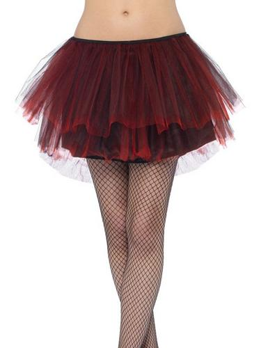 Burlesque Bustle Tutu Red Thumbnail 5