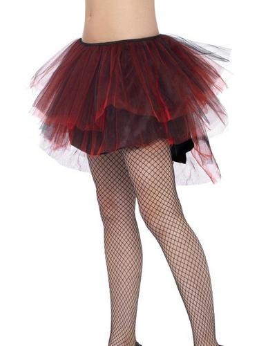 Burlesque Bustle Tutu Red Thumbnail 2