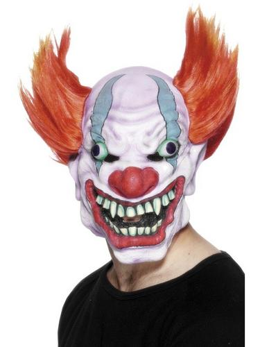 Child Eater Clown Fancy Dress Mask Thumbnail 1