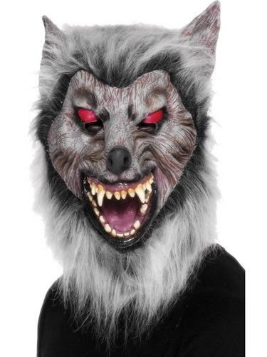 Wolf Prowler Fancy Dress Mask Thumbnail 1