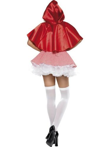 Red Riding Hood Fancy Dress Costume Thumbnail 3