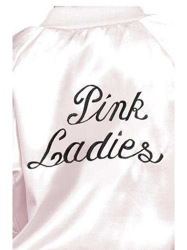Girls Pink Lady Fancy Dress Costume Thumbnail 2