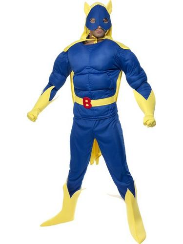 Banana Man Fancy Dress Costume Thumbnail 2