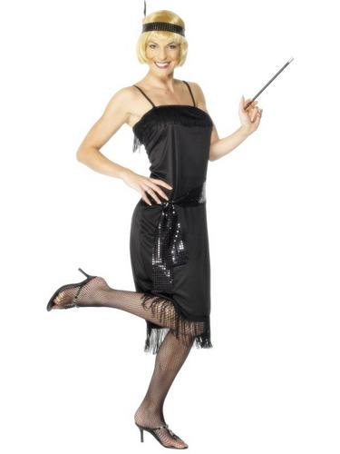 Flapper Fancy Dress Costume Thumbnail 1