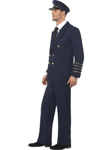Pilot Fancy Dress Costume Thumbnail 3