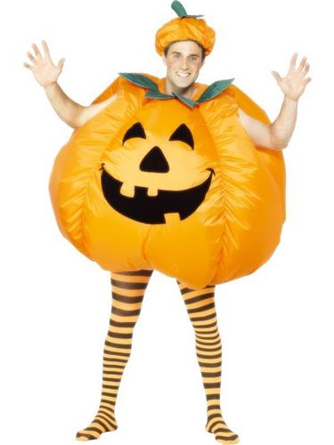Pumpkin Fancy Dress Costume Thumbnail 1