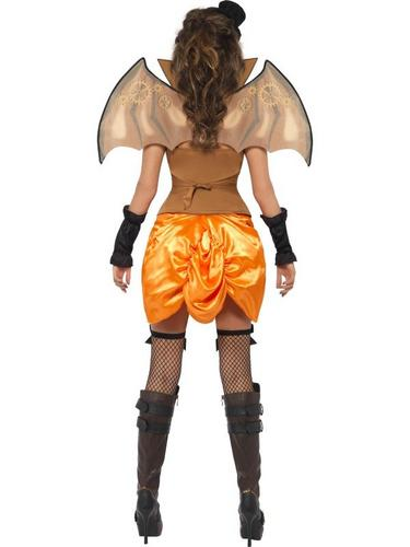 Steampunk Fancy Dress Costume Victorian Bat Thumbnail 3