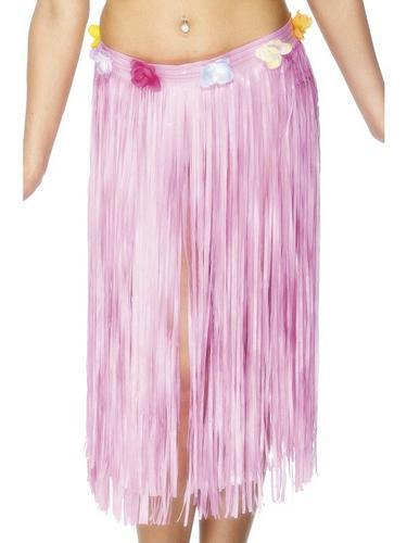 Hawaiian Skirt Pink Thumbnail 1