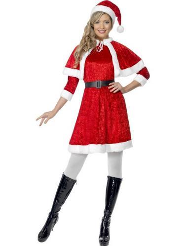 Miss Santa Fancy Dress Costume Thumbnail 1