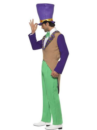 Mad Fancy Dress Hatter Fancy Dress Costume Thumbnail 3