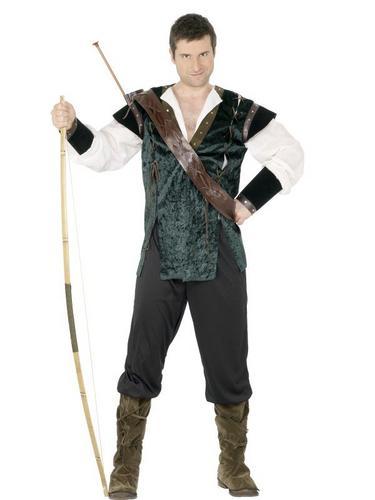 Robin Hood Fancy Dress Costume Thumbnail 1