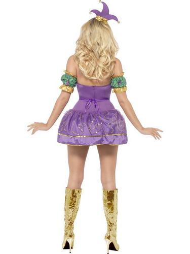 Harlequin Shine Fancy Dress Costume Thumbnail 3