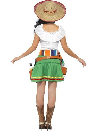 Tequila Shooter Girl Fancy Dress Costume Thumbnail 2