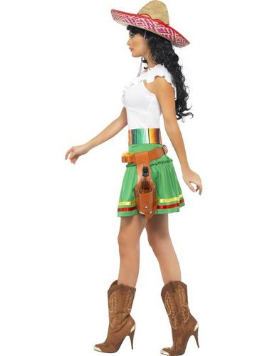 Tequila Shooter Girl Fancy Dress Costume Thumbnail 3