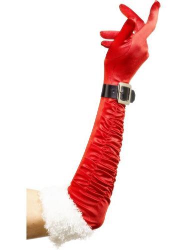 Red Santa Gloves Thumbnail 1