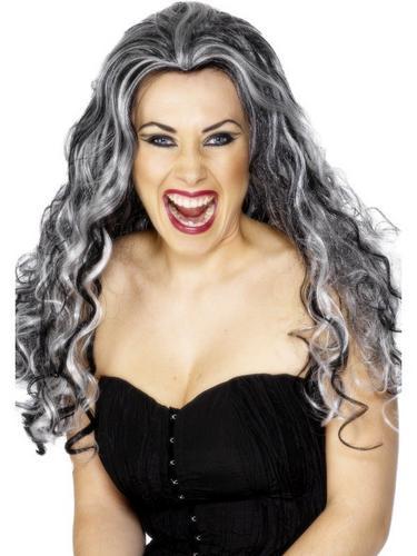 Renaissance Vampire Fancy Dress Wig