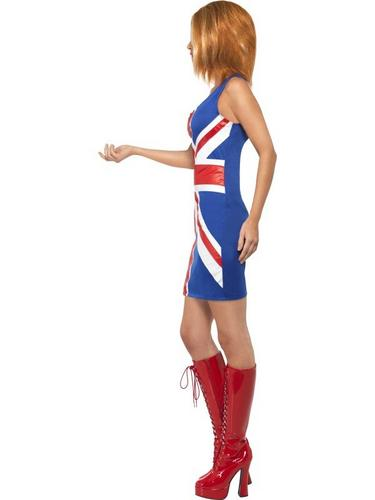 Union Jack Dress Fancy Dress Costume Thumbnail 3