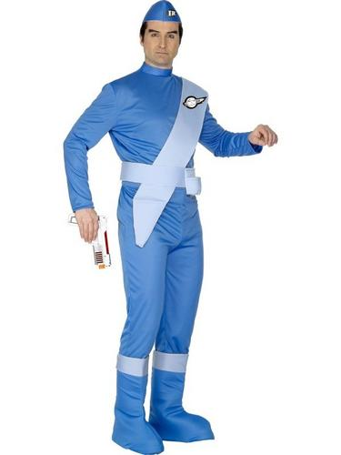 Thunderbirds Scott Fancy Dress Costume Thumbnail 1