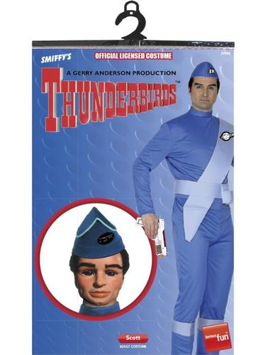 Thunderbirds Scott Fancy Dress Costume Thumbnail 2