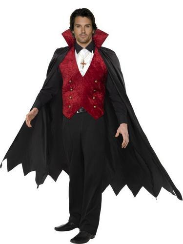 Vampire Fancy Dress Costume Thumbnail 1